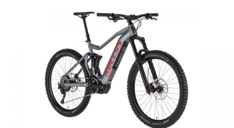 MTB fully ebike kerékpár